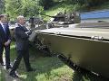Gajdoš začína plánovať modernizáciu tankov: Po roku 2025 bude štát nakupovať nové