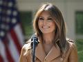 Melania Trumpová rešpektuje svojho manžela, no nesúhlasí s krokmi, ktoré robí na internete
