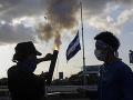 Násilné protivládne protesty v Nikarague: V hlavnom meste zastrelili Američana
