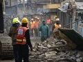 FOTO Pád budovy v Nairobi: V metropole zahynuli najmenej dvaja ľudia