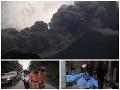 VIDEO Pohroma v Guatemale: Výbuch sopky pripravil o život desiatky ľudí