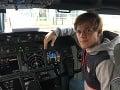 Martin Voštinár je budúci pilot.