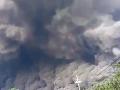 Vyčíňajúca sopka v Guatemale