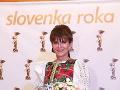 Mária Reháková sa nahodila do takéhoto prekrásneho kroja.