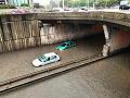 MIMORIADNA situácia v Bratislave: VIDEO Hlavné mesto je pod vodou