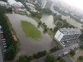 FOTO Bratislavu po daždi sužuje smrad a blato: Za záplavy v mestách môže miznúca zeleň