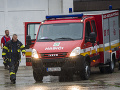Poplach na železnici v Štúrove: Z vagóna vyteká kyselina, zasahujú tam hasičské jednotky