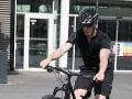 Juraj Bača na bicykli