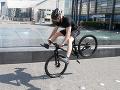 Juraj Bača sa na charitatívnej akcii Misia 07 na bicykli poriadne vyšantil.