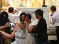 Posledné zbohom pre Henryho: FOTO Ľudia sa rozlúčili so zabitým Filipíncom, rodina v slzách