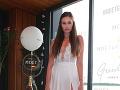 Finalistka Miss Universe SR 2016 Petra Agalareva.