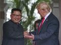 Som ako Kim Čong-un, vyhlásil Trump: Problém s KĽDR vraj z veľkej časti vyriešil