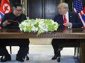 Podľa Trumpa KĽDR už nepredstavuje hrozbu: Severokórejské médiá hovoria o schôdzke storočia