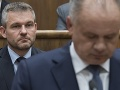 Pellegrini vyvracia Kiskove slová: Žiadnu správu o prepojení mafie na vládu nedostal
