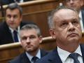Kiskov prejav v parlamente rozhneval Smer! Pellegrini a Fico vracajú úder, drsná výzva: Mal sa vzdať