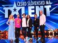 Šou Česko Slovensko má talent štartuje 1. septembra.