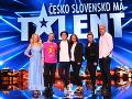 Vynovená zostava moderátorov aj porotcov šou Česko Slovensko má talent.