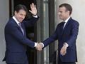 Macron a Conte sa zhodli: Treba reformu európskeho azylového systému