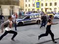 VIDEO Taxikár v Moskve vrazil do chodcov: Prežili len zázrakom, za všetkým stála únava