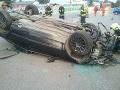 Auto v Trenčíne narazilo