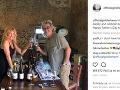 Rodina Kate Hudson si dovolenku v Grécku užíva.