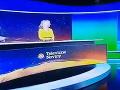 V závere Televíznych novín  boli diváci svedkami  nečakanej situácie.