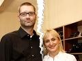 Andy Kraus s exmanželkou