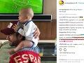 Enrique Iglesias a Anna Kournikova sa radujú zo svojich dvojičiek.