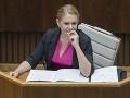 Ministerka Saková: Zavedenie kamier pri zásahoch polície je komplikovanejšie