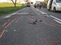 Vážna nehoda dvoch áut pri Tepličke nad Váhom: Zranená je žena z Českej Republiky