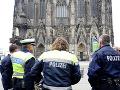 Poplach v Kolíne nad Rýnom: Za všetko môže podozrivý muž pred katedrálou