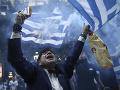 FOTO Gréci vyšli do ulíc: Nepáči sa im dohoda o zmene názvu Macedónska