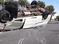 VIDEO Vážna nehoda Slováka v Maďarsku: Rumun v mikrobuse nestihol ubrzdiť, desiati zranení