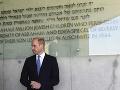 Človek sa učí celý život: Princ William sa týmto heslom riadi aj počas návštevy Jeruzalema