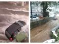 Obľúbenú destináciu Slovákov bičujú búrky: VIDEO Zaplavené ulice, bahno a nechutná zima!
