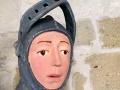 FOTO Farár poprosil učiteľku, aby zreštaurovala 500-ročnú sochu: Takto tragicky to dopadlo