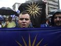 Protesty v Grécku neutíchajú: FOTO Ľudia opäť skandovali, nevyhli sa ani výtržnostiam
