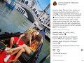 Rytmus a Jasmina Alagič  prežívajú romantické chvíľky v Benátkach.