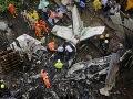 Tragédia pri pristávaní: VIDEO Lietadlo sa zrútilo do obývanej oblasti, šesť mŕtvych