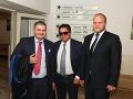 Marian Kočner so svojimi advokátmi Michalom Mandzákom (vľavo) a Martinom Pohovejom.