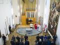 Bratislavský hrad má po 200 rokoch kaplnku: Danko verí, že ľuďom pomôže nájsť správnu cestu