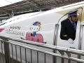 Japonci zase prekvapujú svet: FOTO Tak takýto gýčový vlak ste ešte nevideli