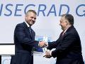 Slovensko prebralo vyšehradskú štafetu: Predsedníctvo povedieme v znamení spolupráce s Bruselom