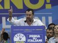 Liga brániaca hranice a blahobyt detí: Taliansky minister Salvini chcel založiť nové hnutie