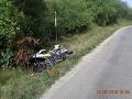 Motorkár sa zrazil s lesnou zverou: FOTO Polícia prosí svedkov nehody o informácie