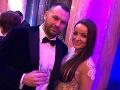 Daniela Nízlová s priateľom Tiborom. Zoznámili sa začiatkom minulého roka na plese.