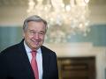 Šéf OSN Guterres sa stretol s utečencami: Nestačil sa čudovať, neveril vlastným ušiam