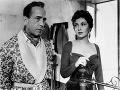 Gina Lollobrigida a Humphrey Bogart