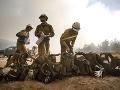 Veľké lesné požiare v
