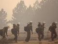 FOTO Na západe USA vyčíňajú lesné požiare: Evakuovať museli stovky ľudí